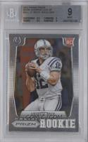 Andrew Luck (short print: ball at shoulder) [BGS 9]