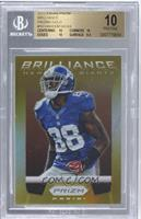 Hakeem Nicks /10 [BGS 10 PRISTINE]