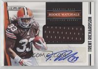 Rookie Materials Autographs - Trent Richardson #/499