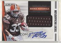 Rookie Materials Autographs - Trent Richardson #/499