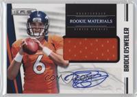 Rookie Materials Autographs - Brock Osweiler #/499