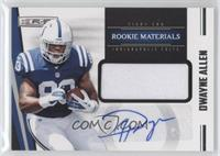 Rookie Materials Autographs - Dwayne Allen #/499