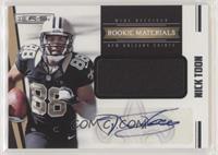 Rookie Materials Autographs - Nick Toon #/499