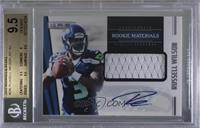 Rookie Materials Autographs - Russell Wilson [BGS 9.5 GEM MINT] …