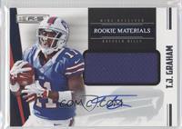 Rookie Materials Autographs - T.J. Graham #272/499