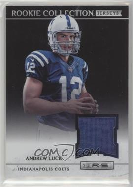 2012 Panini Rookies & Stars - Rookie Collection Jerseys #12 - Andrew Luck