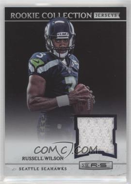 2012 Panini Rookies & Stars - Rookie Collection Jerseys #5 - Russell Wilson