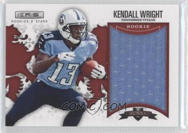 2012 Panini Rookies & Stars - Rookie Crusade - Red Materials #7 - Kendall Wright /199