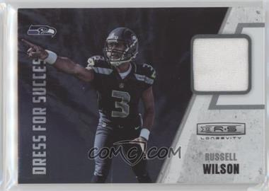 2012 Panini Rookies & Stars Longevity - Dress for Success Materials #34 - Russell Wilson
