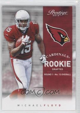 2012 Playoff Prestige - [Base] #272.1 - Michael Floyd
