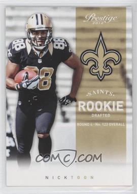 2012 Playoff Prestige - [Base] #277 - Nick Toon