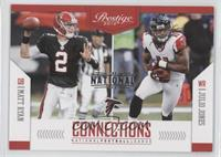Matt Ryan, Julio Jones #/5