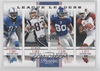 Calvin Johnson Jr., Wes Welker, Larry Fitzgerald, Victor Cruz /5
