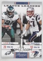 LeSean McCoy, Rob Gronkowski