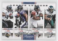 LeSean McCoy, Maurice Jones-Drew, Michael Turner, Ray Rice