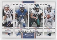 Cam Newton, Rob Gronkowski, Calvin Johnson Jr., LeSean McCoy