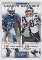 Calvin Johnson Jr., Wes Welker