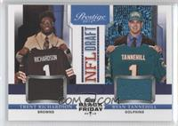 Trent Richardson, Ryan Tannehill