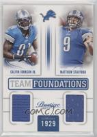 Calvin Johnson Jr., Matthew Stafford /249