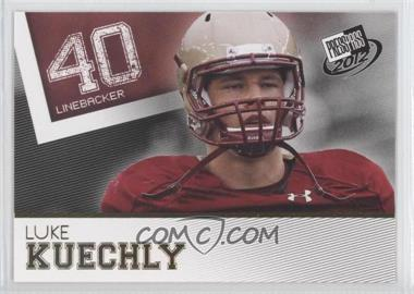 2012 Press Pass - [Base] - Gold #27 - Luke Kuechly