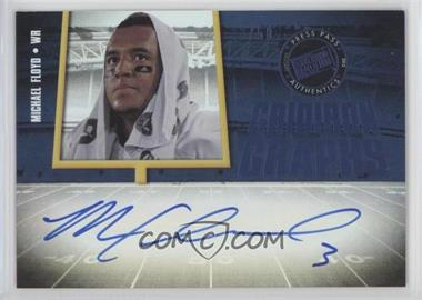 2012 Press Pass Fanfare - Gridiron Graphs - Blue #GG-MF - Michael Floyd /50