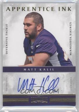 2012 Prominence - Apprentice Ink #4 - Matt Kalil /99