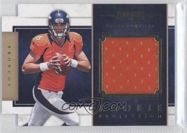 2012 Prominence - Rookie Projection Materials Die-Cut #3 - Brock Osweiler /299