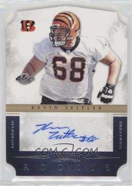 2012 Prominence - Rookie Signatures Die-Cut #169 - Kevin Zeitler /499