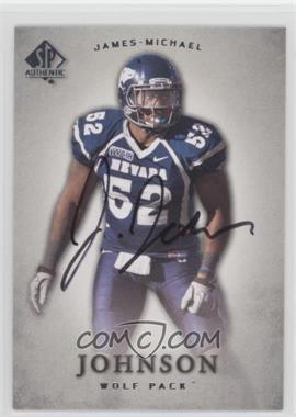 2012 SP Authentic - [Base] - Autographs [Autographed] #46 - James-Michael Johnson