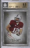 Andrew Luck (silver no auto) [BGS 9.5 GEM MINT]