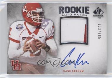 2012 SP Authentic - [Base] #254 - Case Keenum /885