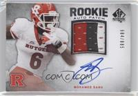 Rookie Auto Patch - Mohamed Sanu #/885