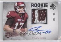 Rookie Auto Patch - Ryan Tannehill #/425
