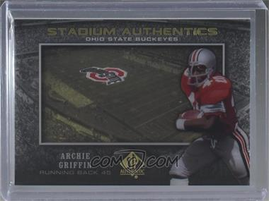 2012 SP Authentic - Stadium Authentics #SA-AG - Archie Griffin