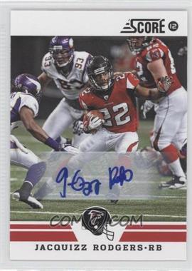 2012 Score - [Base] - Signatures [Autographed] #43 - Jacquizz Rodgers