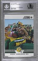 Greg Jennings [JSA Certified Encased by BGS]