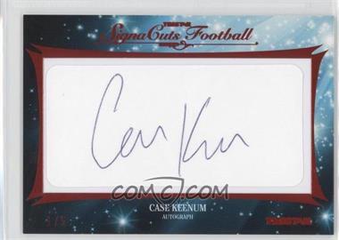 2012 TRISTAR SignaCuts - Cut Signatures - Red #CAKE - Case Keenum /5