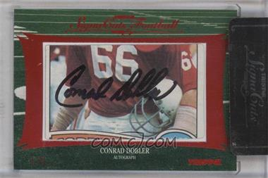 2012 TRISTAR SignaCuts - Cut Signatures - Red #CODO - Conrad Dobler /5