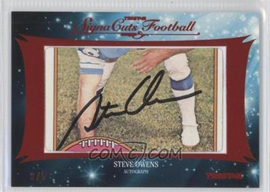 2012 TRISTAR SignaCuts - Cut Signatures - Red #STOW - Steve Owens /5