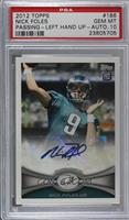 Nick Foles [PSA 10 GEM MT]
