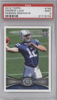 Andrew Luck (Ball partly out of frame) [PSA9MINT]