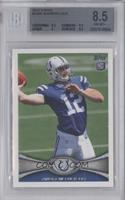 Andrew Luck (Ball partly out of frame) [BGS 8.5 NM‑MT+]