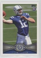Andrew Luck (Ball partly out of frame)