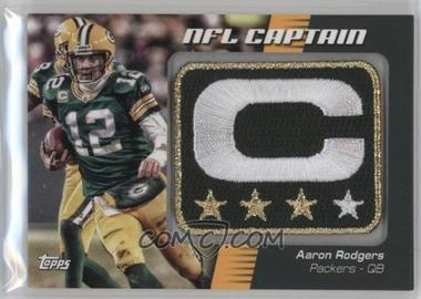 best authentic 6b7a3 e2f57 2012 Topps - NFL Captain's Patch #NCP-AR - Aaron Rodgers