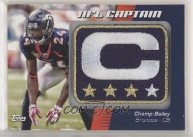 2012 Topps - NFL Captain's Patch #NCP-CB - Champ Bailey