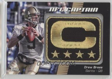 2012 Topps - NFL Captain's Patch #NCP-DB - Drew Brees