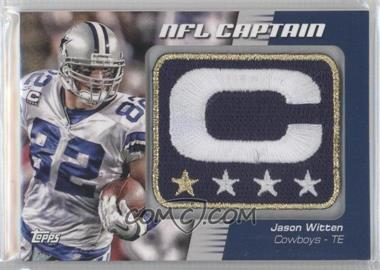 sneakers for cheap 6f803 4fd59 2012 Topps - NFL Captain's Patch #NCP-JW - Jason Witten