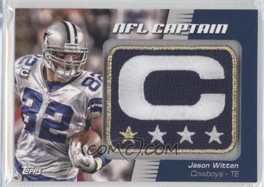 2012 Topps - NFL Captain's Patch #NCP-JW - Jason Witten