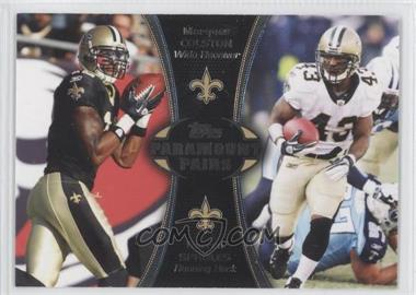 2012 Topps - Paramount Pairs #PA-CS - Marques Colston, Darren Sproles