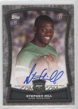 2012 Topps - Rookie Premiere Autographs #RPA-SH - Stephen Hill /90